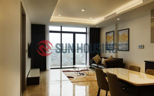 Airy apartment for rent in Sun Grand City Hanoi | Suitable for family