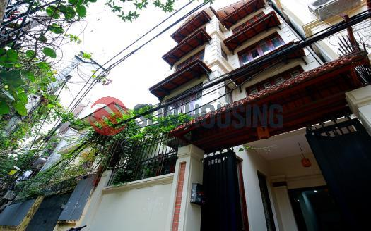 Dreamy 5 floor house for rent in Tay Ho Hanoi | Old French Design