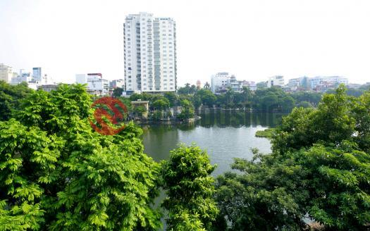 Apartment for rent in Ba Dinh Hanoi lake view, 3 bedrooms.