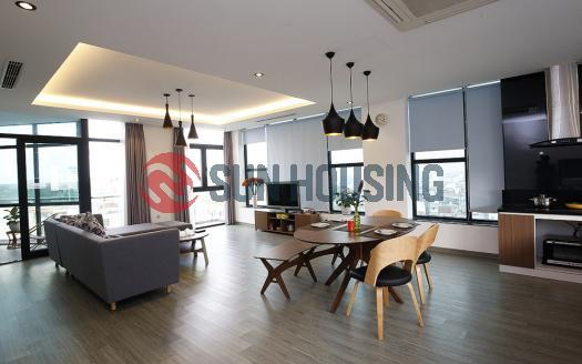 02-bed apartment Hoan Kiem with full services, 120 sqm