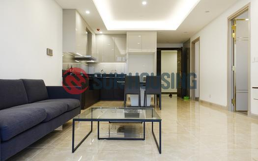 High-floor 2 bedroom apartment for rent in Sun Grand City, Ba Dinh