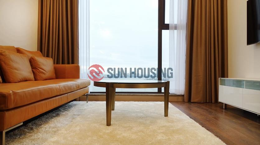 One bedroom apartment for rent in Sun Grand City Hanoi, lake view