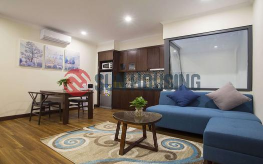 1 bedroom apartment in Cau Giay for rent, new building