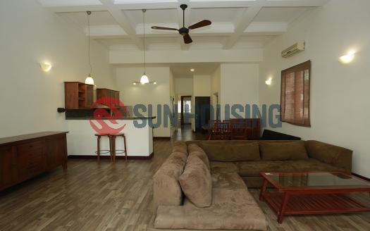 100 sqm 1 bedroom apartment for rent in Hoan Kiem