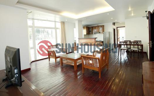 Apartment for rent in Ba Dinh Hanoi, 2 bedrooms 110 sqm