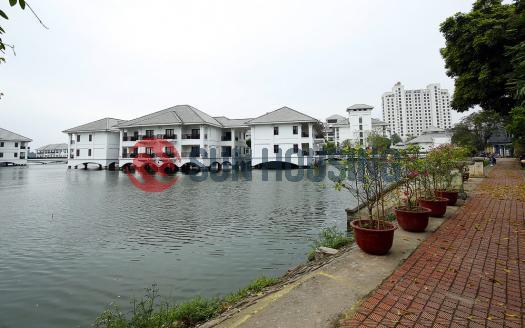 House Westlake Hanoi facing Westlake from 40m distance