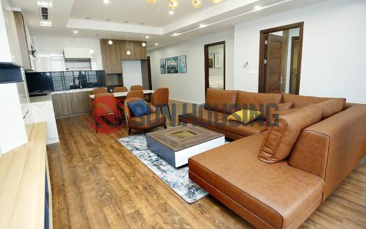 Tan Hoang Minh 3 bedroom Westlake apartment for rent