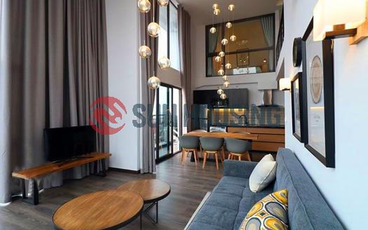 Brand new and modern Duplex apartment for rent in Dong Da