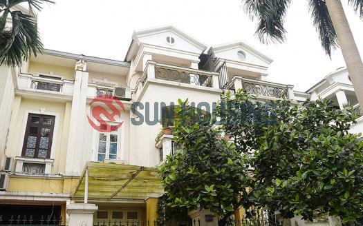 Villa in Ciputra Hanoi for rent 04 bedrooms in C Block