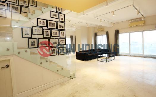Super large balcony apartment in Golden Westlake Hanoi, 3 beds 2