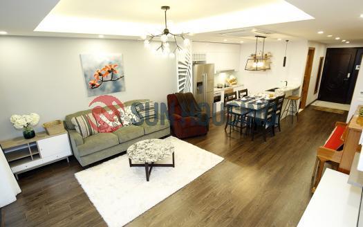 Fancy D'. Le Roi Soleil 2 bedroom apartment for rent in Westlake Hanoi