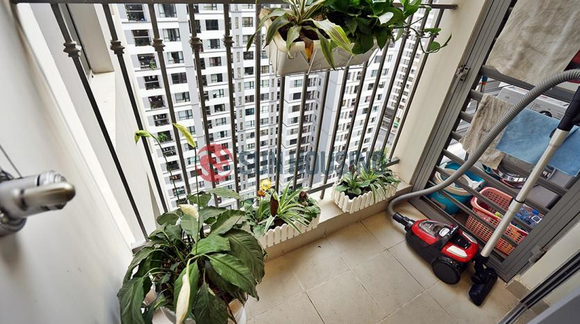 City-viewing balcony apartment in Times City Park Hill