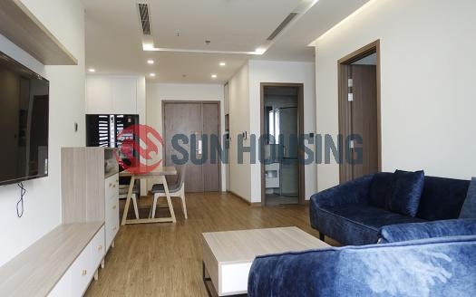 Bright and airy balcony apartment in Metropolis for rent