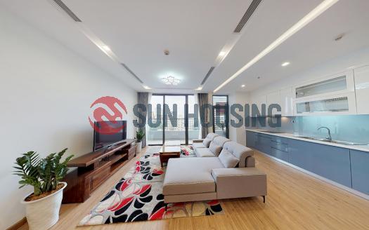 Low floor 3-bedroom apartment for rent in Metropolis, furnished