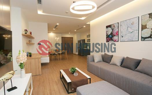 Middle-floor 02 bedrooms apartment in Metropolis for rent 76sqm
