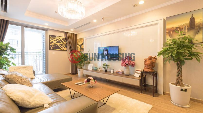 Gorgeous apartment in Times City for rent with ornamental plants