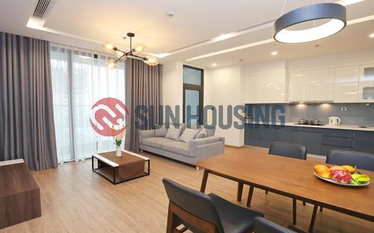 Modern 02 bedrooms apartment in Metropolis for rent 76sqm