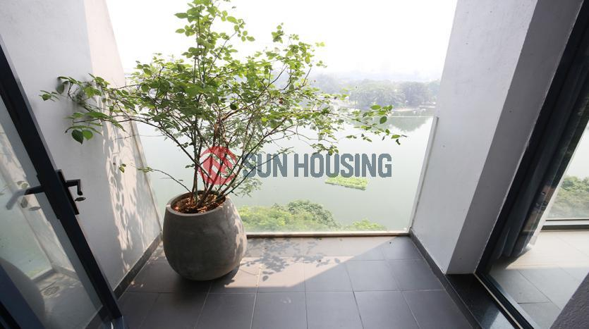 vLake view apartment for rent in Dong Da Hanoi, 100 sqm