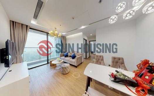 Modern 02 bedrooms apartment in Metropolis for rent 72sqm