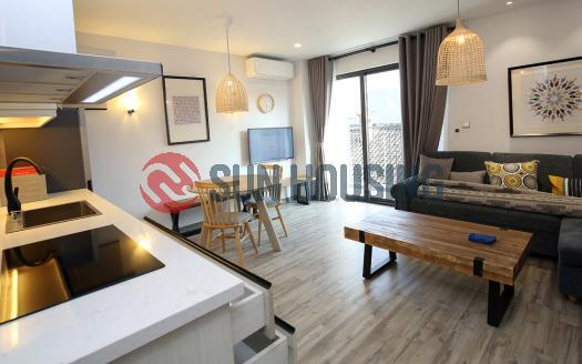 02 bedroom serviced apartment Hoan Kiem with modern design