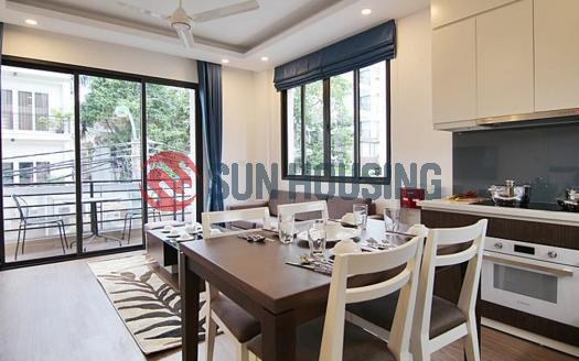 01 bedroom apartment with a beautiful balcony in To Ngoc Van street