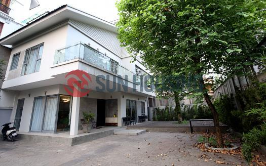 Super large house for rent in Tay Ho Hanoi, modern style