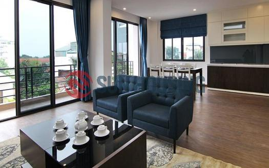 Full of light serviced apartment in Westlake Hanoi, 2 beds