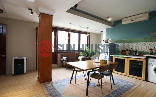 Vintage style 1-bedroom serviced apartment Hoan Kiem Hanoi