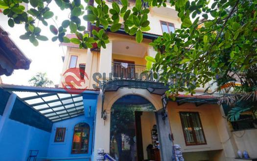 Unbelievable 5 bedroom house for rent in An Duong Vuong, swimming pool