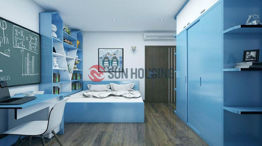 High floor three bedroom apartment in L Building Ciputra, Hanoi