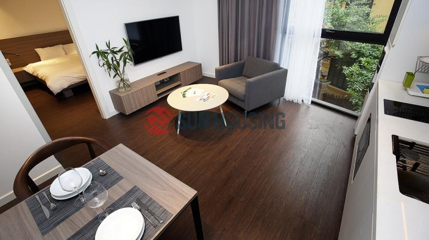Cozy one bedroom apartment in Tay Ho, Hanoi | To Ngoc Van street