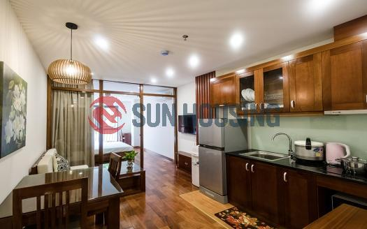 Serviced one bedroom apartment for rent in Ba Dinh, Hanoi