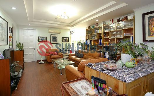 High-floor apartment three bedrooms in E Building Ciputra, Hanoi
