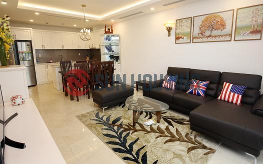 Full furniture D'. Le Roi Soleil 3 bedroom apartment for rent, 114 sqm