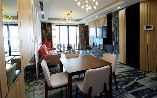 High-floor apartment in D'.Le Roi Soleil, Westlake Hanoi