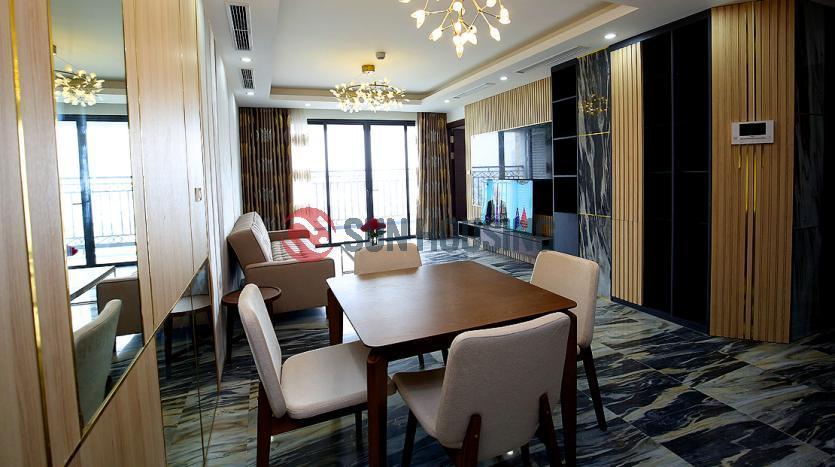 High-floor apartment in D'.Le Roi Soleil, Westlake Hanoi