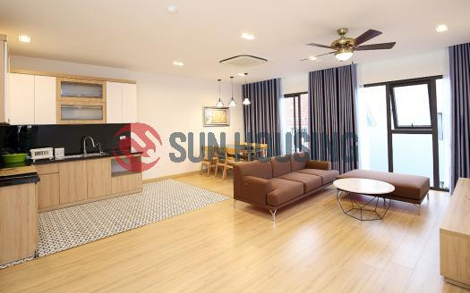 Brand-new 2 BR apartment for rent Tay Ho area, quiet location
