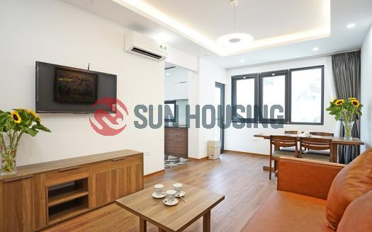 New and bright 1 bedroom apartment Ba Dinh Hanoi for rent, high-quality
