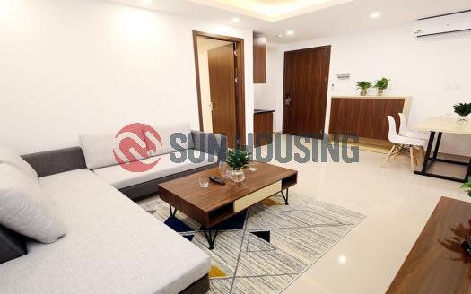 Truc Bach 2 bedroom apartment for rent, main road with car access