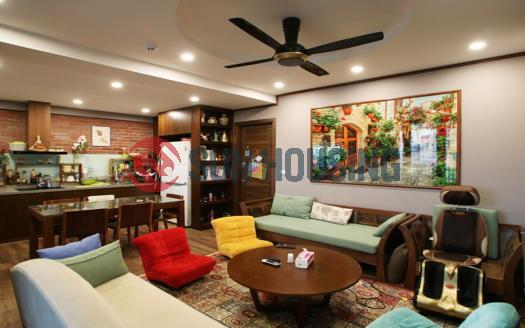 Stunning three bedroom duplex in Cau Giay, Hanoi