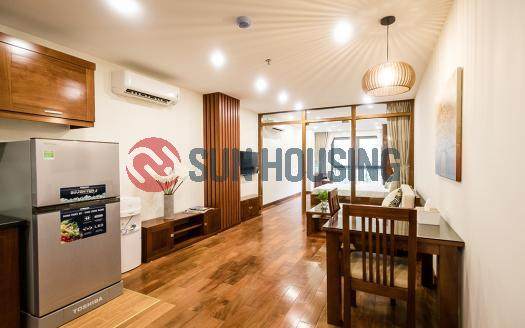Beautiful one bedroom apartment for rent near Lotte Tower, Hanoi
