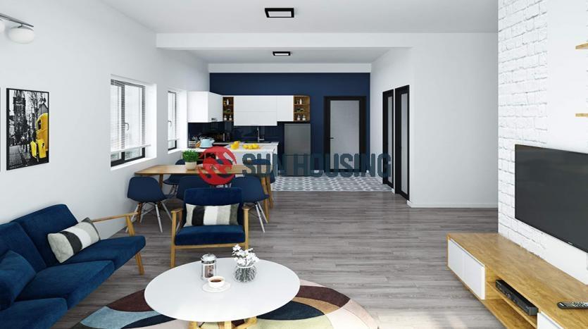 Brand new three bedroom apartment in Long Bien District, Hanoi