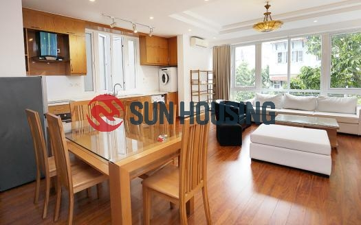 Bright two bedroom apartment in the center of Westlake, Hanoi