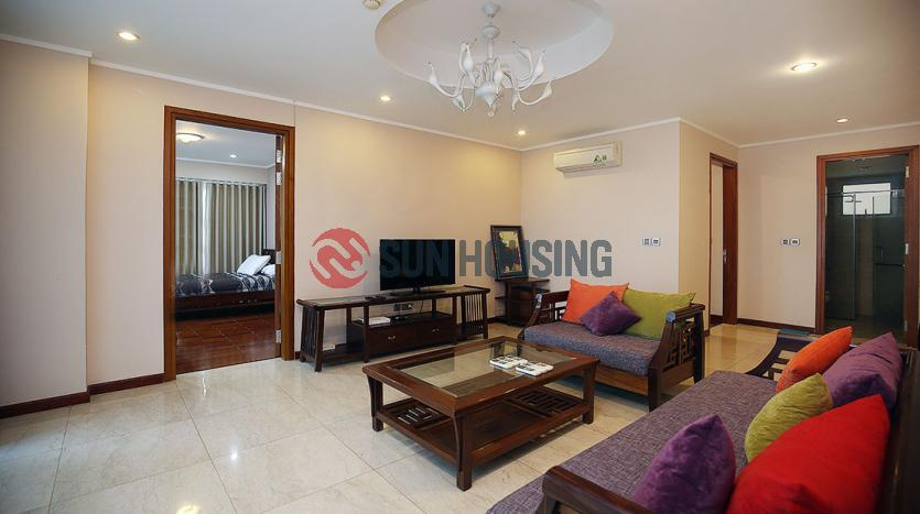 Airy 03 bedroom apartment from the high floor in L Building, Ciputra