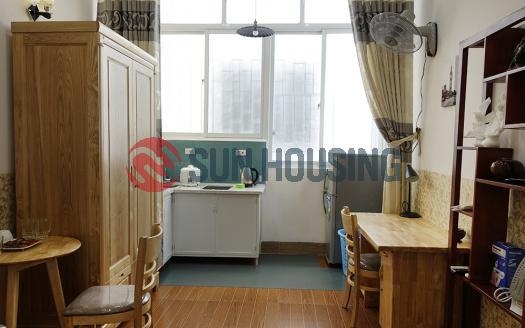 Cozy studio in a quiet place in Ba Dinh Hanoi | Reasonable price