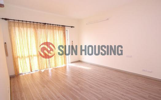 Unfurnished three bedroom apartment in E Building Ciputra, Hanoi