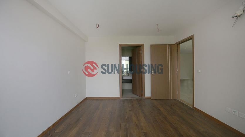 Unfurnished three bedroom apartment in L Building, Ciputra