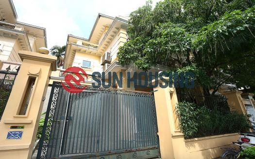Green area for cozy house 5 bedrooms in Ciputra - D Block