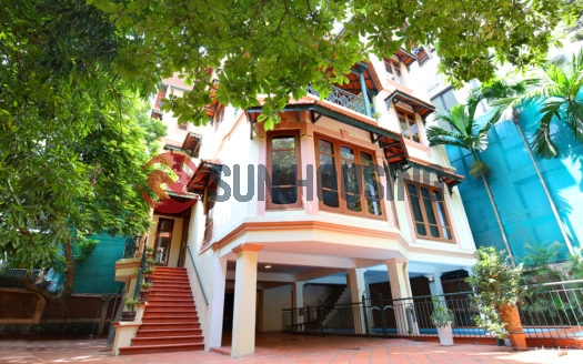 A Must-see Ambassador Villa for rent in Tay Ho road | Swimming pool & Garden