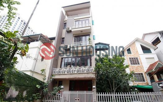 Classic house for rent in Tay Ho, Hanoi with 5 bedrooms